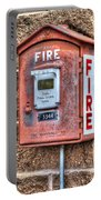 Emergency Fire Box Portable Battery Charger