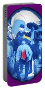 Emiliano Zapata In Group Portrait Xochimilco  Outside Of Mexico City 1914-2013 Portable Battery Charger