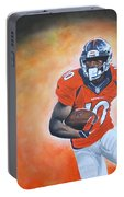 Emmanuel Sanders Portable Battery Charger