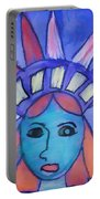Emma's Lady Liberty Portable Battery Charger