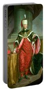 Emperor Francis I 1708-65 Holy Roman Emperor, Wearing The Official Robes Of The Order Of St. Stephan Portable Battery Charger