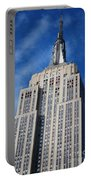 Empire State Building - Nyc Portable Battery Charger