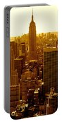 Manhattan And Empire State Building Portable Battery Charger