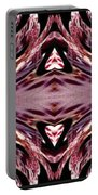 Empress Abstract Triptych Portable Battery Charger