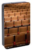 Empty Theater Chairs In Ventura Arts Portable Battery Charger