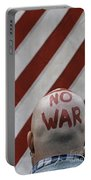 War Protest Portable Battery Charger