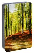 Enchanted Forest - Drawing  Portable Battery Charger