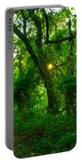 Enchanted Green Path Portable Battery Charger