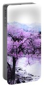 Enchanted Pink Portable Battery Charger