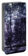 Enchanted Plum Forest Portable Battery Charger