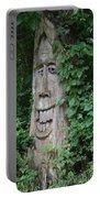 Enchanted Tree In The Forest Portable Battery Charger