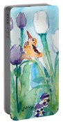Enchanted With Divine Love Portable Battery Charger