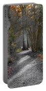 Enchanted Woods Portable Battery Charger by Linsey Williams