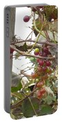 End Of Season Grapes Portable Battery Charger