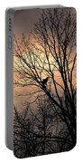 End Of The Day  Red Tailed Hawk Portable Battery Charger