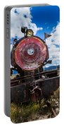 End Of The Line - Steam Locomotive Portable Battery Charger