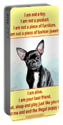End The Puppy Mills Portable Battery Charger