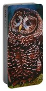 Endangered - Spotted Owl Portable Battery Charger