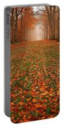 Endless Autumn Portable Battery Charger by Jacky Gerritsen