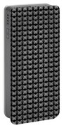 Endless Butterflies On Black Portable Battery Charger