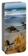 Energizing Seascape At Spanish Bay Portable Battery Charger