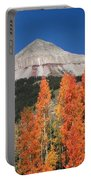 2d10688-engineer Mountain In Fall  Portable Battery Charger