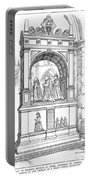 England Church Monument Portable Battery Charger
