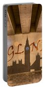 England Graffiti Landmarks Portable Battery Charger