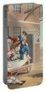 England, Illustration From Hogarth Portable Battery Charger