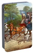 England Road Travel, 1880 Portable Battery Charger