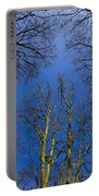 English Forest Trees Portable Battery Charger