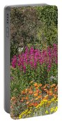 English Garden In Summertime Portable Battery Charger