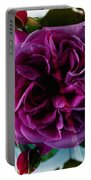 English Rose - Purple Rose - Fragrant Rose Portable Battery Charger