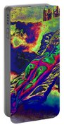 Engulfed In Burning Emotions Portable Battery Charger