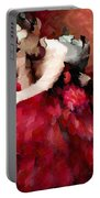 Enigma Of A Geisha - Abstract Realism Portable Battery Charger