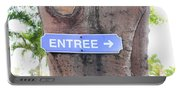 Entrance Sign Portable Battery Charger