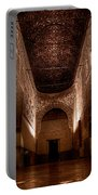 Entrance To The Ambassadors Hall In The Alhambra Portable Battery Charger