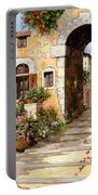 Entrata Al Borgo Portable Battery Charger by Guido Borelli