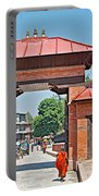Entry To Pasupatinath Temple Of Cremation Complex In Kathmandu-nepal    Portable Battery Charger