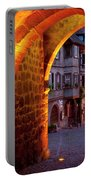 Entry To Riquewihr Portable Battery Charger by Brian Jannsen