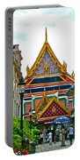 Entryway To Middle Court Of Grand Palace Of Thailand In Bangkok Portable Battery Charger