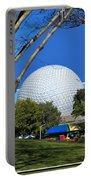 Epcot Globe 02 Portable Battery Charger by Thomas Woolworth