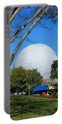 Epcot Globe Walt Disney World Portable Battery Charger