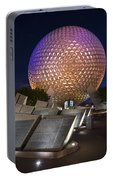 Epcot Spaceship Earth Portable Battery Charger