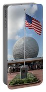 Epcot Usa Portable Battery Charger