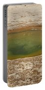 Ephedra Spring In West Thumb Geyser Basin Portable Battery Charger