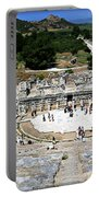 Theater Of Ephesus Portable Battery Charger