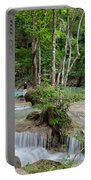 Erawan National Park In Thailand Portable Battery Charger