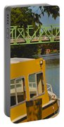 Erie Canal At Pittsford Ny Portable Battery Charger