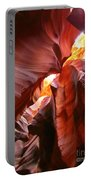Erosions At Antelope Canyon Portable Battery Charger